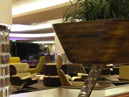 Sunken lounge. Heathrow (londra). Softroom. 2006