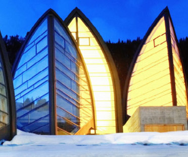Centro wellness Bergoase. Mario Botta. Arosa (Svizzera). 2006