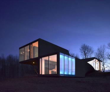 VilLA NM - UNStudio. Upstate New York, Catskills, 2006