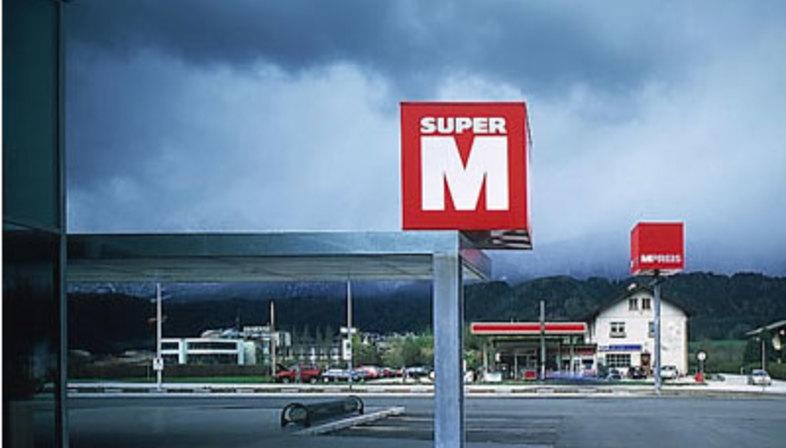 Supermercati M-Preis. Wattens (Austria). Dominique Perrault. 2000