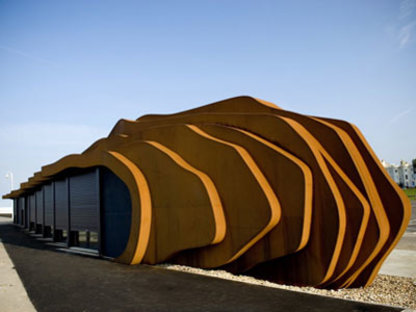 East Beach Cafe - Heatherwick Studio<br /> Littlehampton, 2007
