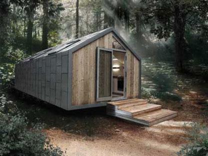 Tre modelli di mobile home progettati da Hangar Design Group