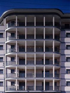 Rivestimento esterno, edificio residenziale a Milano