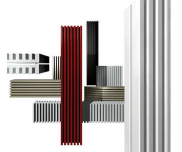 Radiatore Square, Ludovica + Roberto Palomba, collezione Elements, Tubes
