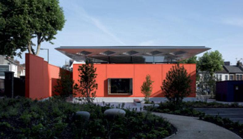 Maggie's Centre, Richard Rogers (Rogers Stirk Harbour + Partners), Londra, 2008