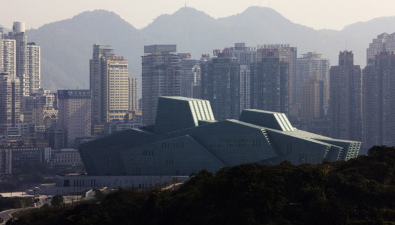 Gmp e il Grand Theater, landmark di Chongqing