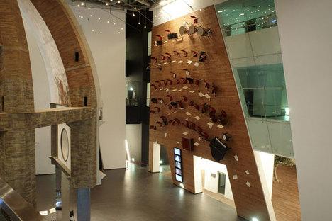 Mostra permanente negli interni del Padiglione Italia