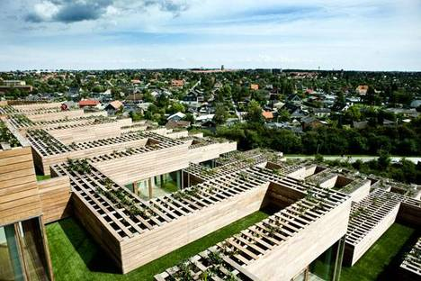 Vista dalle abitazioni sul contesto Ph. Ulrik Jantzen