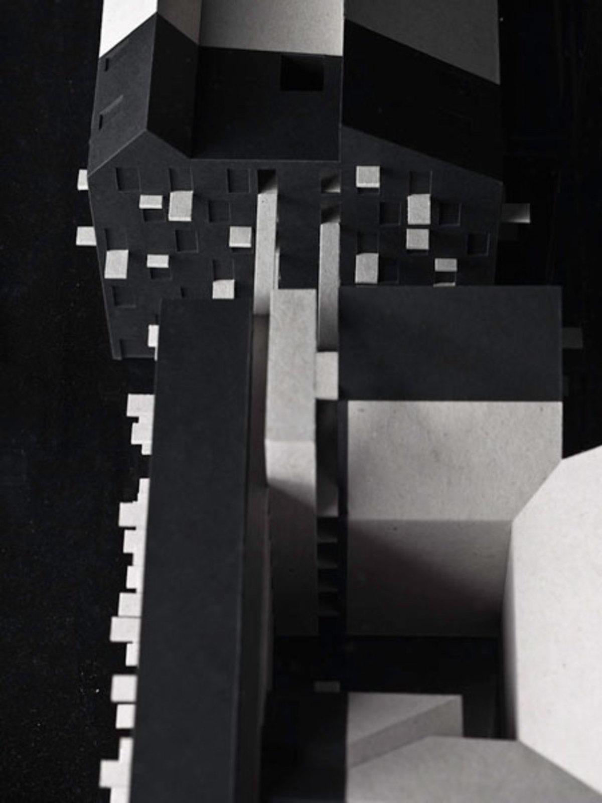 Maquette, parti scure di nuova costruzione