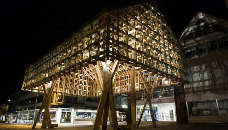 Atelier Oslo e AWP: Lanterna a Sandnes