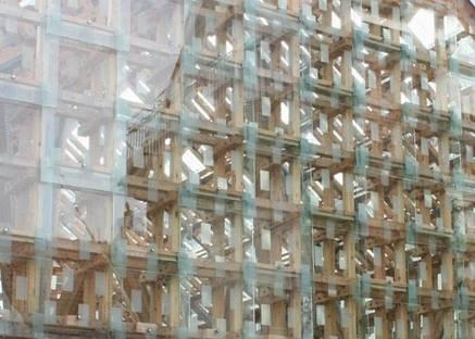 La copertura in moduli di vetro fissata direttamente alla struttura, Ph. Thomas