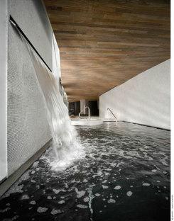 Dettaglio della cascata d''acqua