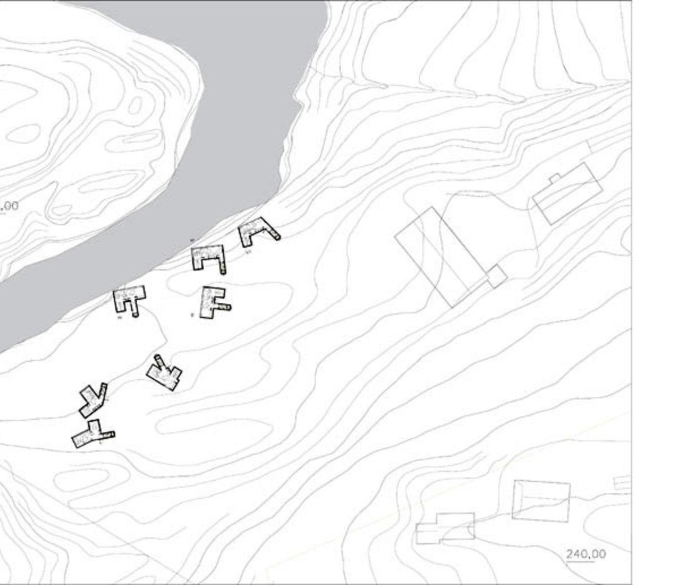 Planimetria dell''hotel