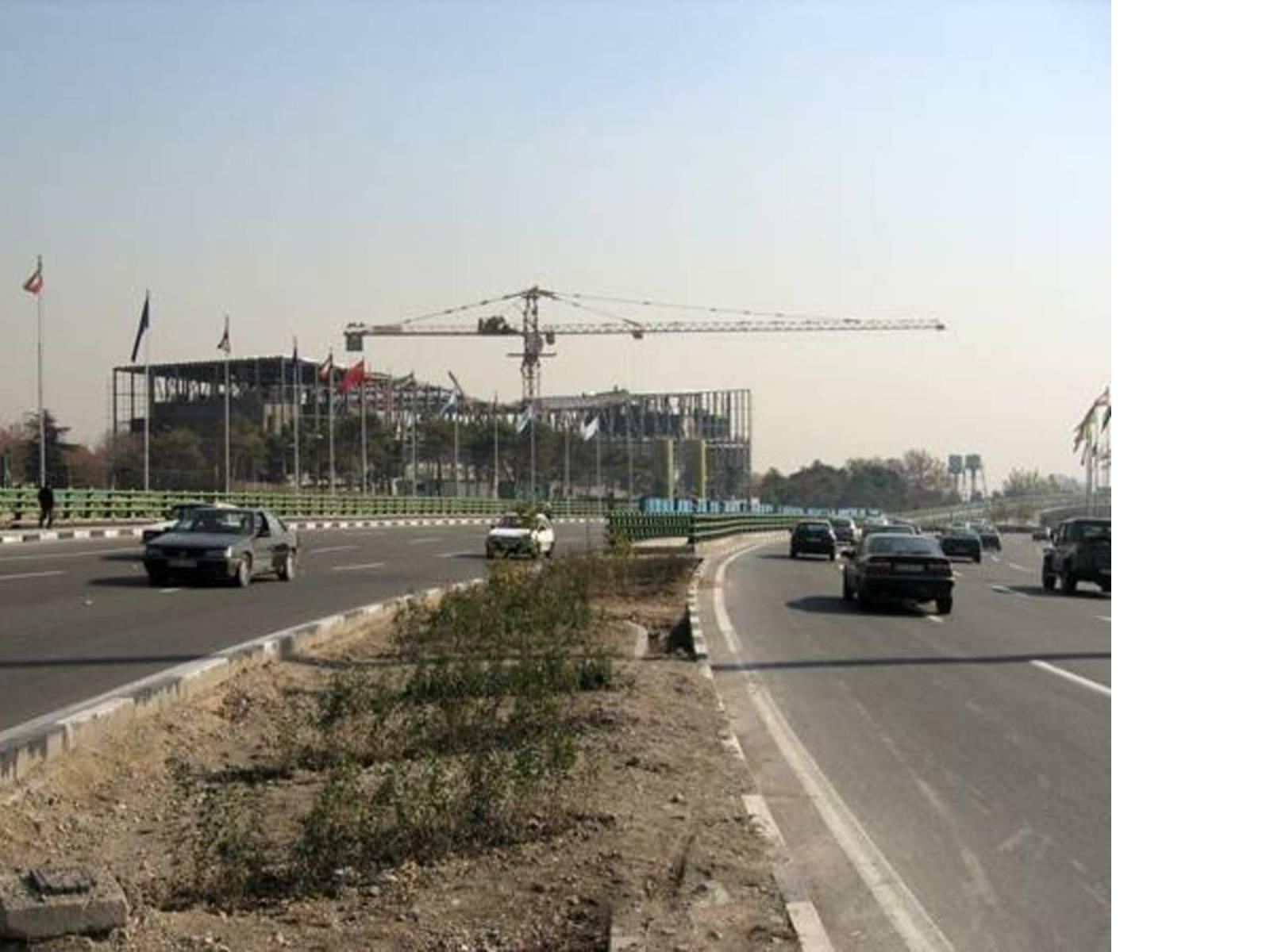 Il cantiere dalla superstrada, Ph. Reza Daneshmir