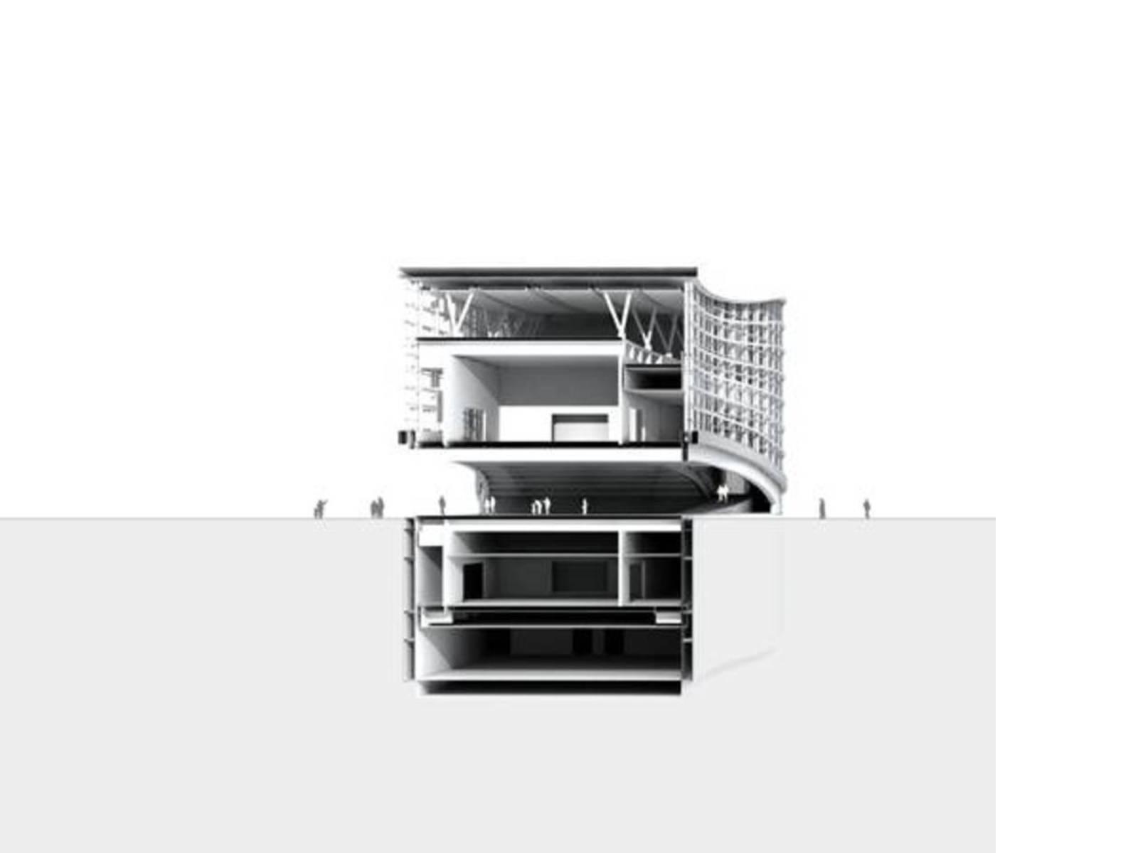 Modello 3D, sezione