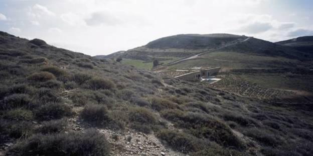 Vista dalla collina a nord, Ph. Erieta Attali
