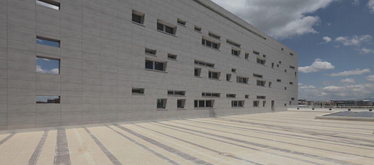 Nuovi uffici per un nuovo quartiere a roma floornature for Uffici virtuali roma