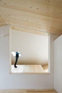 Yoshichika Takagi: casa in legno a Sapporo