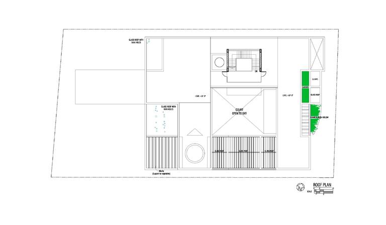Rafiq azam casa con specchio d acqua a dacca floornature for Specchio d acqua architettura