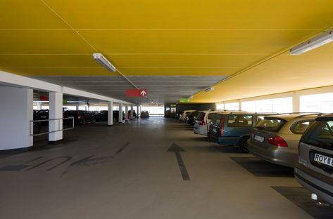 Erika car park nell'area portuale di Malmö