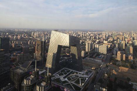 OMA/Rem Koolhaas: sede della CCTV a Pechino