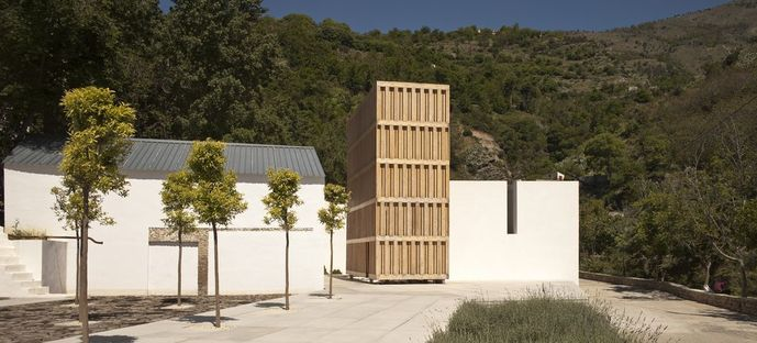 J. D. Santos: Museo dell'acqua a Lanjarón