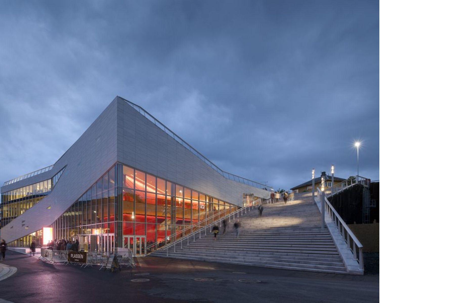 3XN architects: Cultural Center Plassen in Norvegia