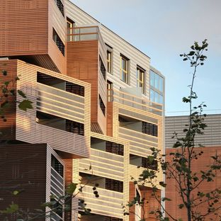 OFIS architects: Basket apartments a Parigi
