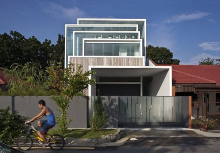 Chang Architects: casa nella natura a Singapore
