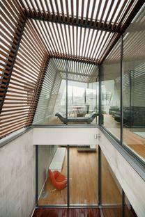 Keiji Ashizawa: casa nel centro di Tokyo e nel verde