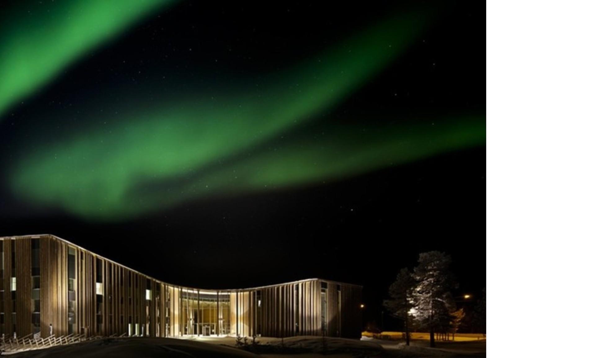 Halo Architects: Sami cultural Center a Inari (Finlandia)