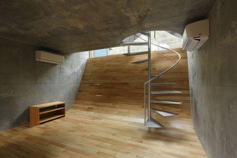 Takeshi Hosaka: casa in 60 mq di terreno a Yokohama