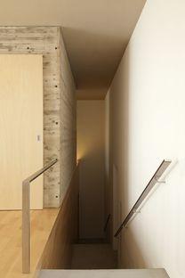 Tsukano architects: casa senza affacci in Giappone