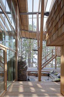 Koponen: casa sul lago Saimaa in Finlandia