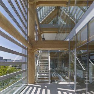 Shigeru Ban: uffici Tamedia, l'architettura nel dettaglio a Zurigo