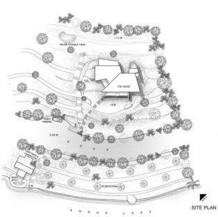 Shirish Beri: casa sulle rive del lago a Andur