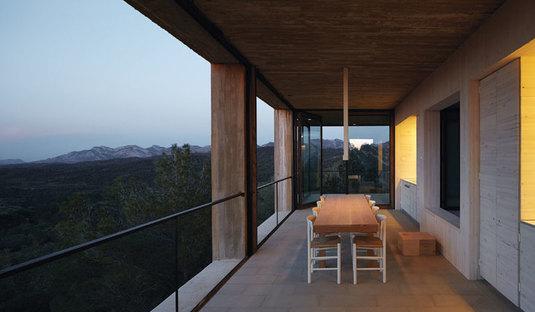 Pezo von Ellrichshausen: Solo house a Cretas, Spagna