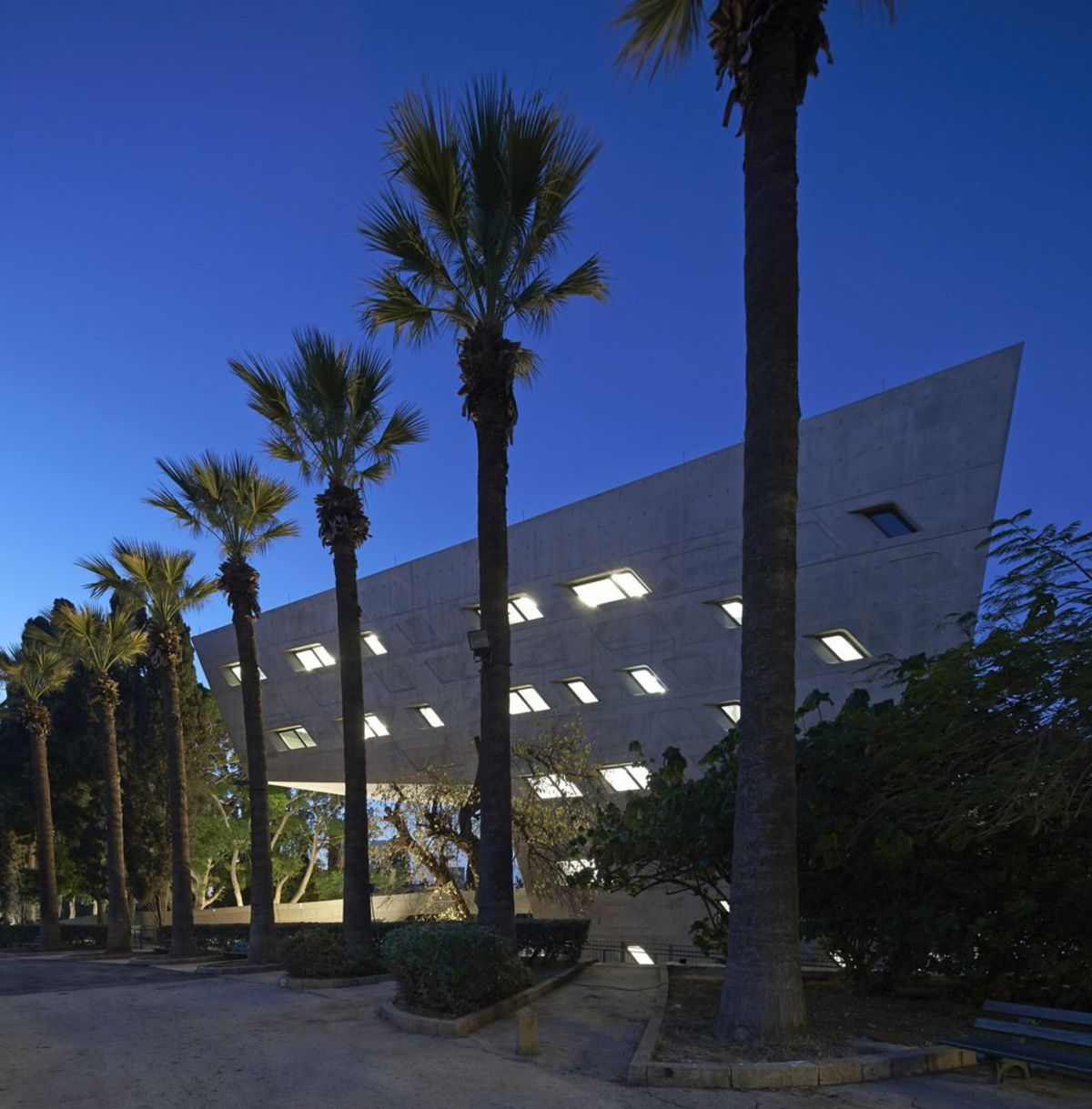 Issam Fares Institute for Public Policy di Zaha Hadid a Beirut