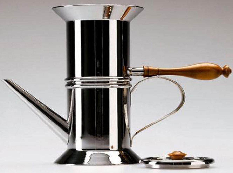 Design a napoli dalla latta al caffe itinerari for Caffettiera napoletana alessi