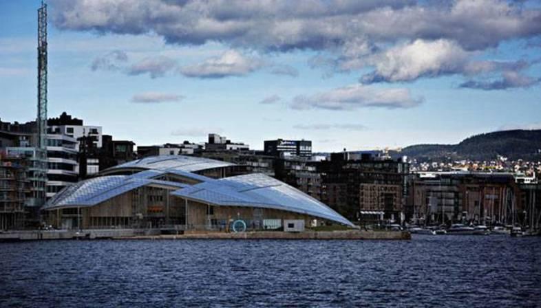 Itinerario in Europa fra i progetti dell'Architetto Renzo Piano