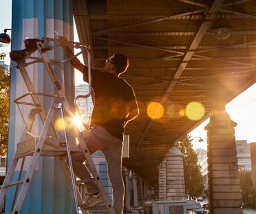 Réalité – installazione di Boa Mistura alla Nuit Blanche di Parigi