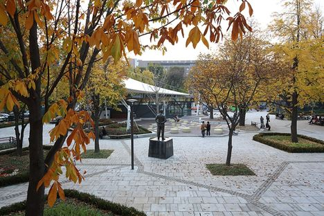 Marronnier Park a Seoul, Korea, di METAA architects