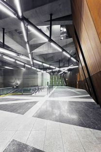 Spora Architects e la linea metro M4 di Budapest.