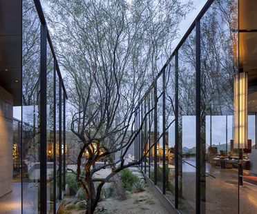 Wendell Burnette Architects e la Desert Courtyard House