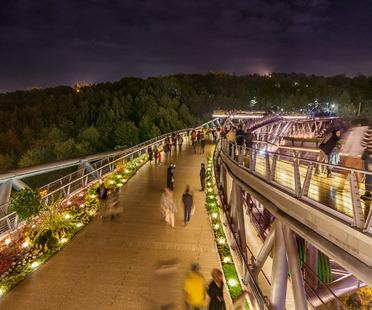 Tabiat Pedestrian Bridge, Diba Tensile Architecture