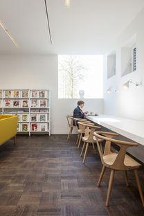 Rinnovamento della City Library a Bruges di Studio Farris