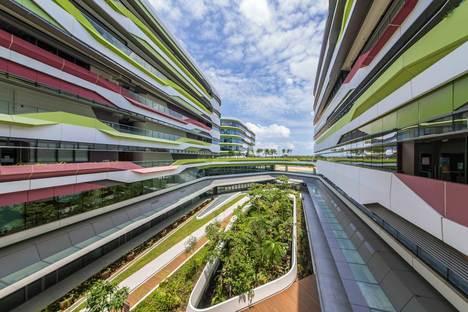 Apertura della Singapore University of Technology and Design SUTD