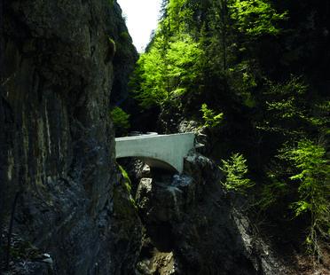 Un ponte premiato realizzato da Marte.Marte Architekten