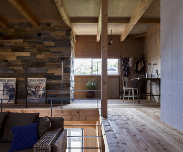 Ishibe House di ALTS DESIGN OFFICE