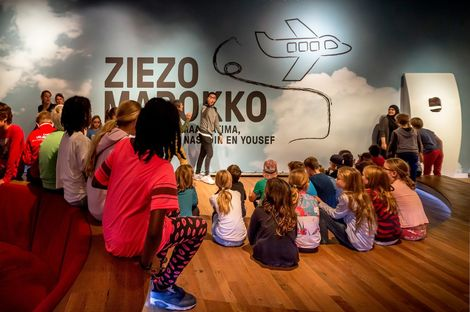 ZieZo Marokko, installazione di Kossmann.dejong